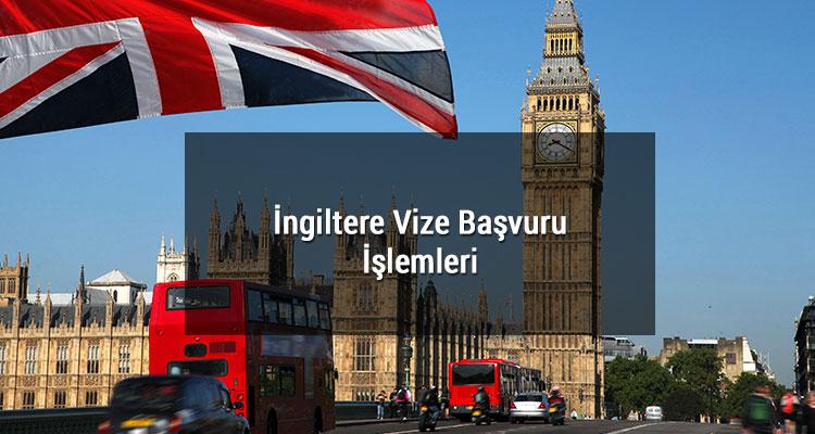 İngiltere Vize Başvuru İşlemleri